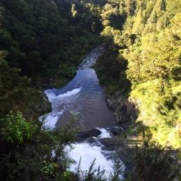 Taheke Waterfall.