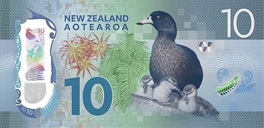 The new $10 banknote. Photo: Reserve Bank of New Zealand