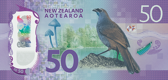 The new $50 banknote. Image: Reserve Bank of New Zealand.