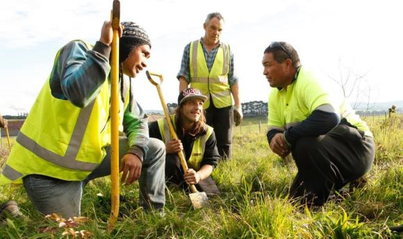 Te Whangai Trust – Winners of the Supreme Award at the 2016 Green Ribbon Awards.
