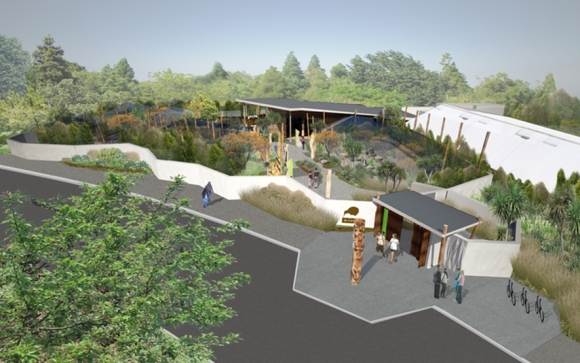 Wildbase Recovery, a national wildlife rehabilitation facility, will be built in Palmerston North's Victoria Esplanade.