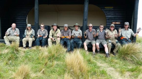 The Mahaanui DOC crew.