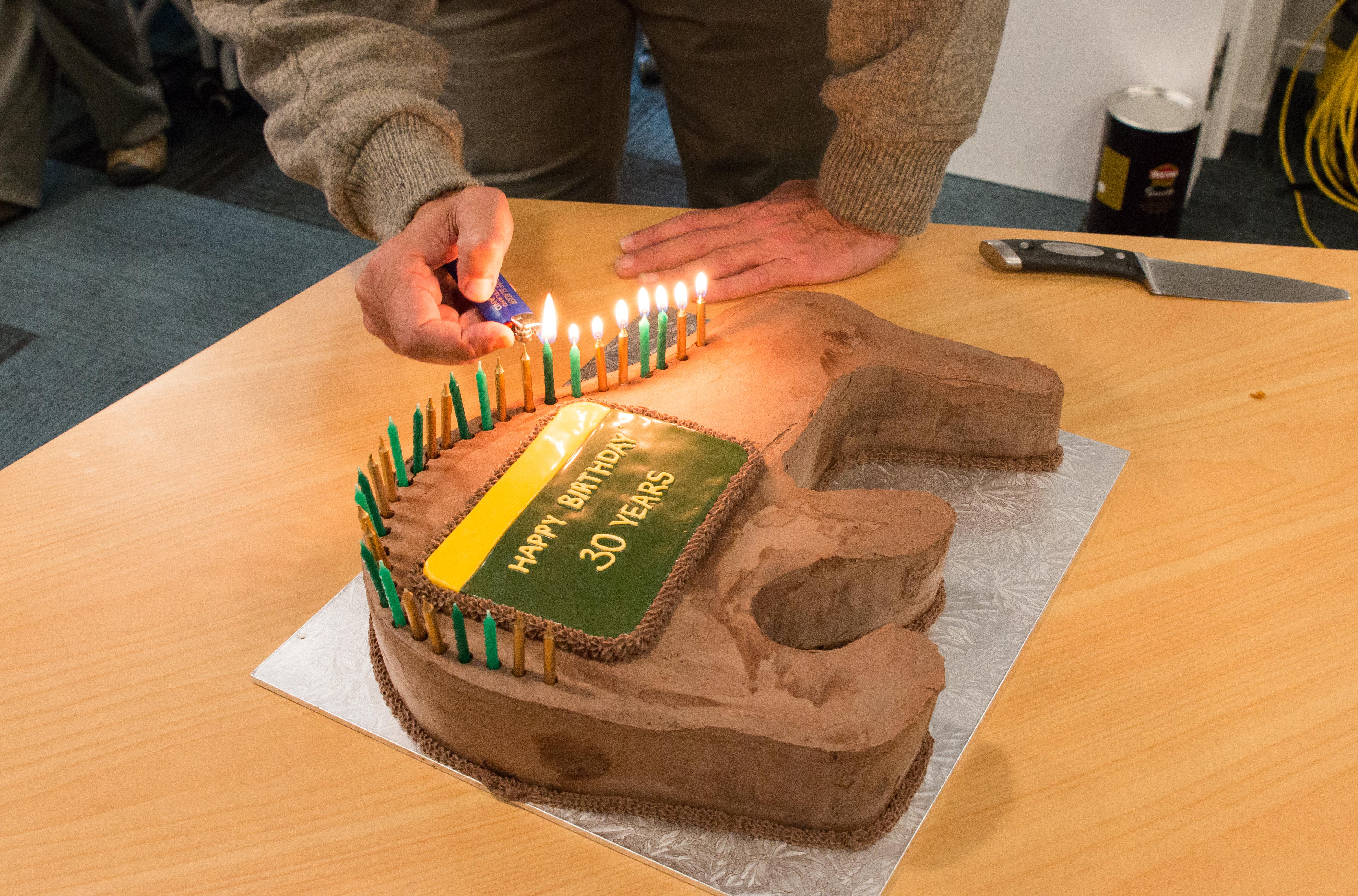 DOC turns 30 celebration cakes