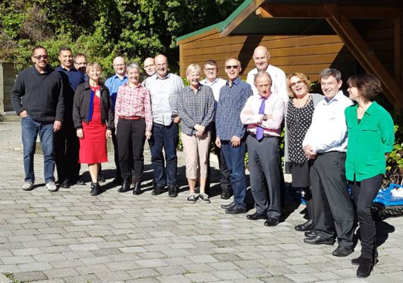 Leadership teams of DOC, MPI and MfE.