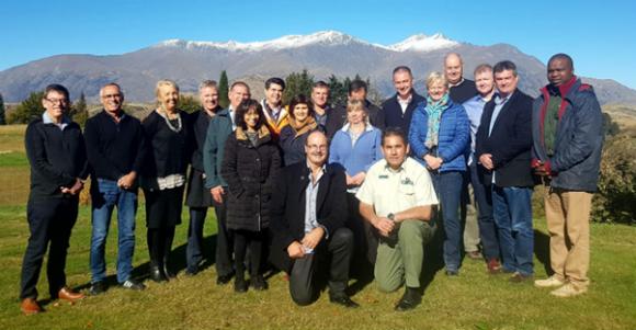 World Park Leaders Forum meeting in Queenstown.