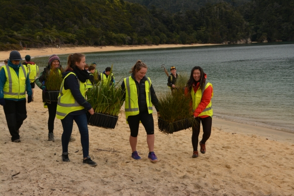 Student Advisory Board Community Event - Abel Tasman Park - Wendy Reeve