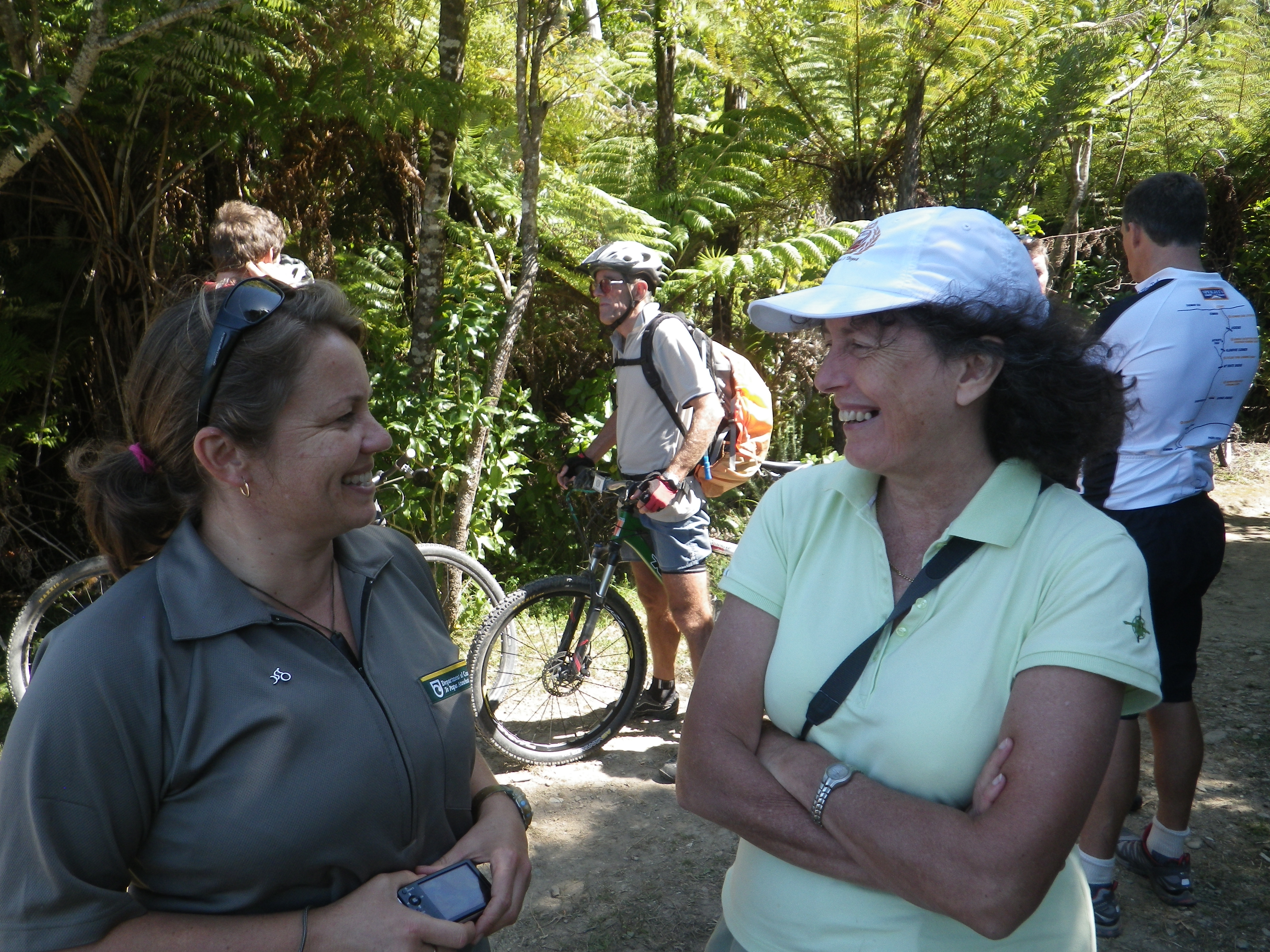 Queen Charlotte Track: A partnership with many