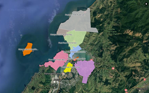 The suburbs under predator control around Porirua harbour are steadily growing.