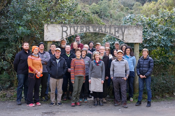 Ruahine Whio Protectors Hui, River Valley.