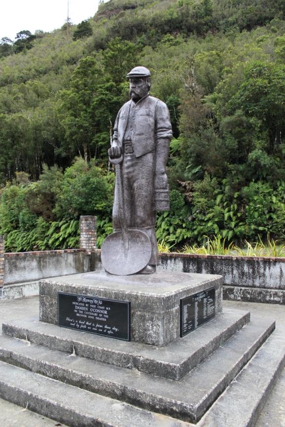 Brunner Mine memorial.