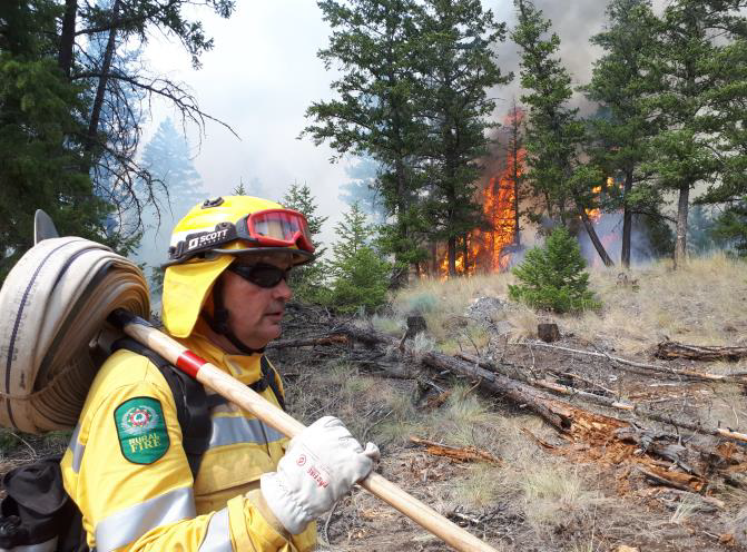 Fighting fires with dedicated DOC staff