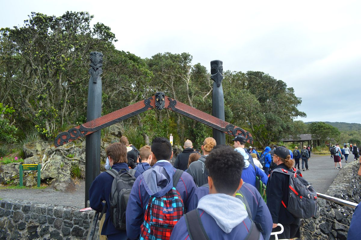 Blog: Conquering the climb on Rangitoto