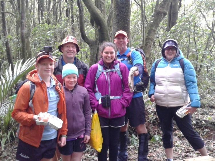 Scouts trap pests in Manawatu Gorge