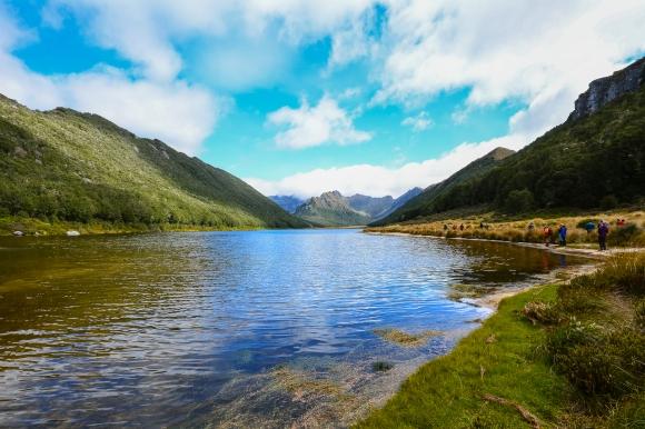 Annual Lake Orbell Guided Walk - Credit Anja Kohler
