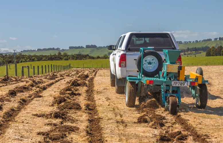 Full seed ahead: planting by machine