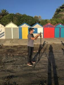 6 Hayden filming