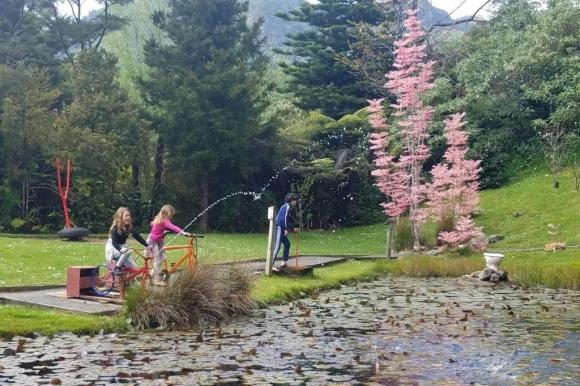 Kids at water park.